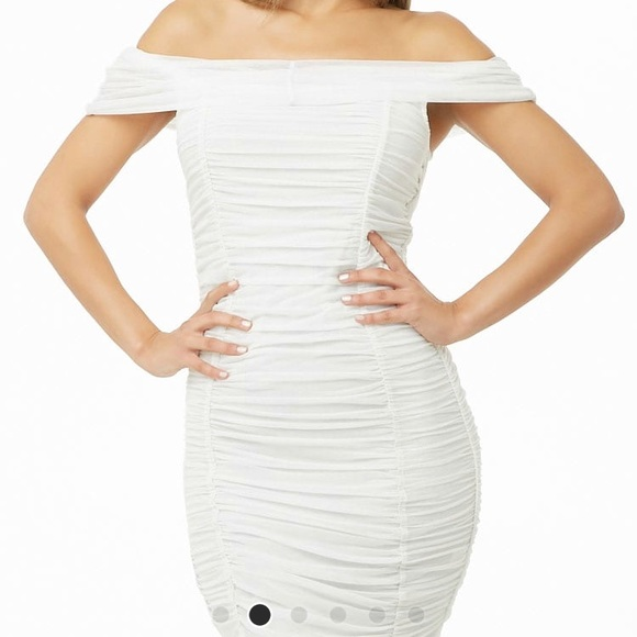 Forever 21 Dresses & Skirts - Forever 21 white ruffled dress! New with tag!